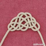 松結びの結び方(紐結び方・飾り結び)