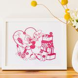 メッセージカードやインテリアに!かわいいディズニー切り絵の作り方(6作品)