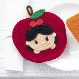 洗剤いらずでエコ!白雪姫の手作りアクリルたわしの編み方