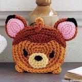 かわいい手作りエコたわし!バンビのアクリルたわしの編み方