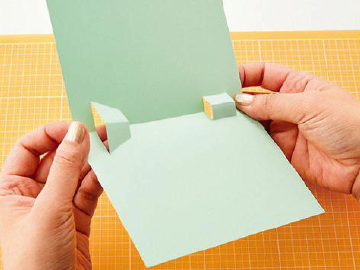 飛び出るメッセージカードの基本の作り方ぬくもり