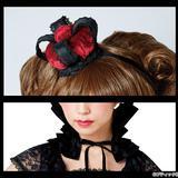 ハートの女王のヘッドドレスとエリザベスカラーの作り方