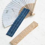 簡単!夏に向けて手作りしたい シンプルな紳士・婦人用扇子入れの作り方(和小物)