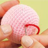かぎ針編みの基本「糸始末」のやり方