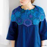 簡単!かぎ針編みで作る ケープの編み方