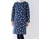 手ぬいのキルティングコートの型紙・パターン(実物大)