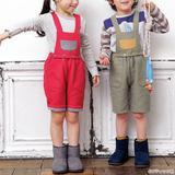 【キッズ用の秋冬パンツ】おしゃれなサロペットの作り方