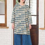 【簡単】写真付きで解説!シンプルな長袖チュニックの作り方