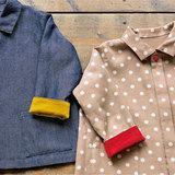 秋春におすすめ!キッズサイズのライトジャケットの作り方