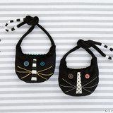 【キッズ用バッグ】かわいい黒猫のポシェットの作り方
