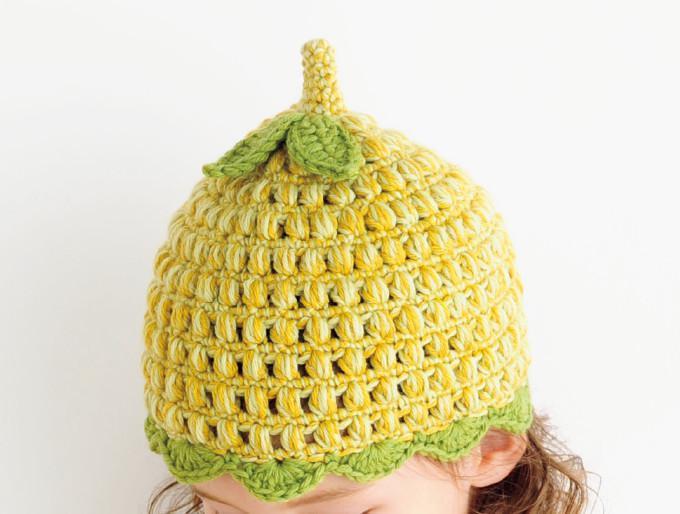 手編みで作れるかわいいどんぐり帽子の材料